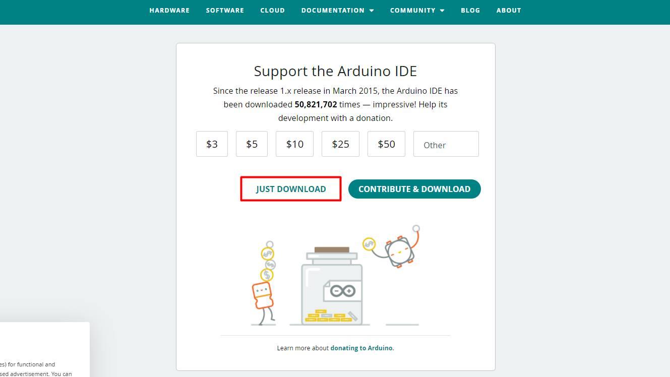 Arduinoインストール方法2